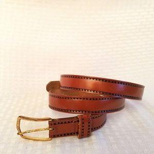 Vintage Steerhide Leather Belt